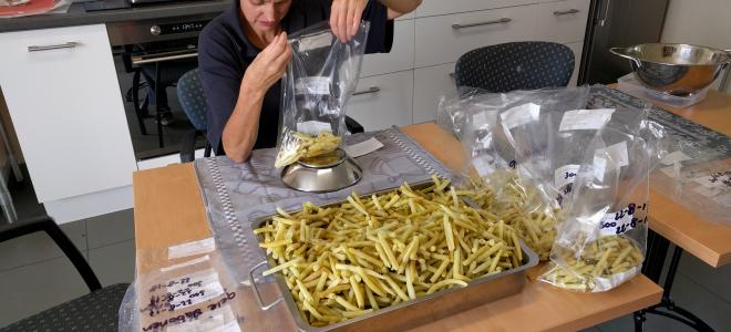 Eten van de eigen moestuin Het Gevlekte Schaap